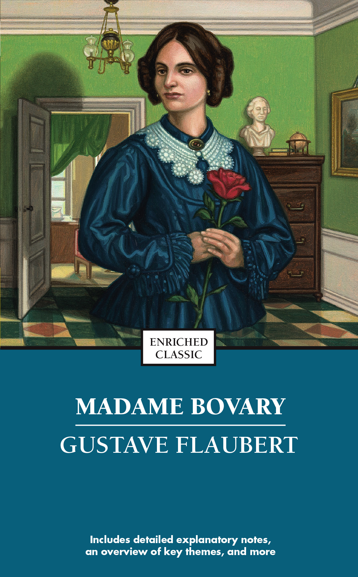 a book review on madame bovary Already filmed by jean renoir, claude chabrol and vincente minnelli, gustave flaubert's 1856 classic madame bovary does another neurotic tango through the villages of normandy in this latest adaptation of the seminal french classic about the ambitious wife of a simple country doctor whose adulterous affairs and mounting debts to escape the.