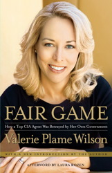Cover of 'Fair Game' by Valerie Plame via Simon & Schuster website