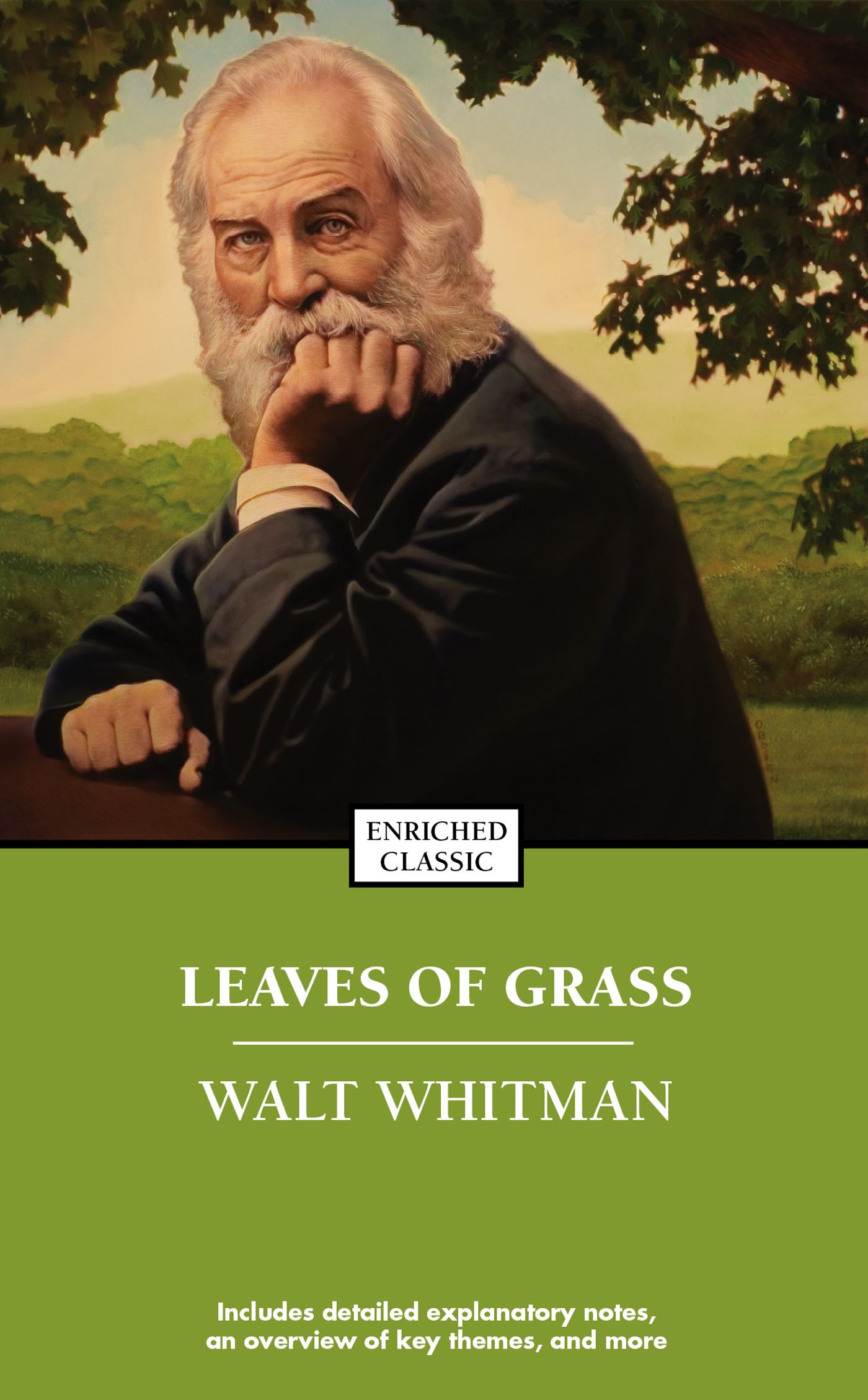 an analysis of walt whitmans leaves of grass Quick answer according to an analysis on cliffs notes of leaves of grass by walt whitman, the three main themes are a celebration of his own individuality, an appreciation of america and democracy, and an expression of universal themes, such as birth, death and resurrection.