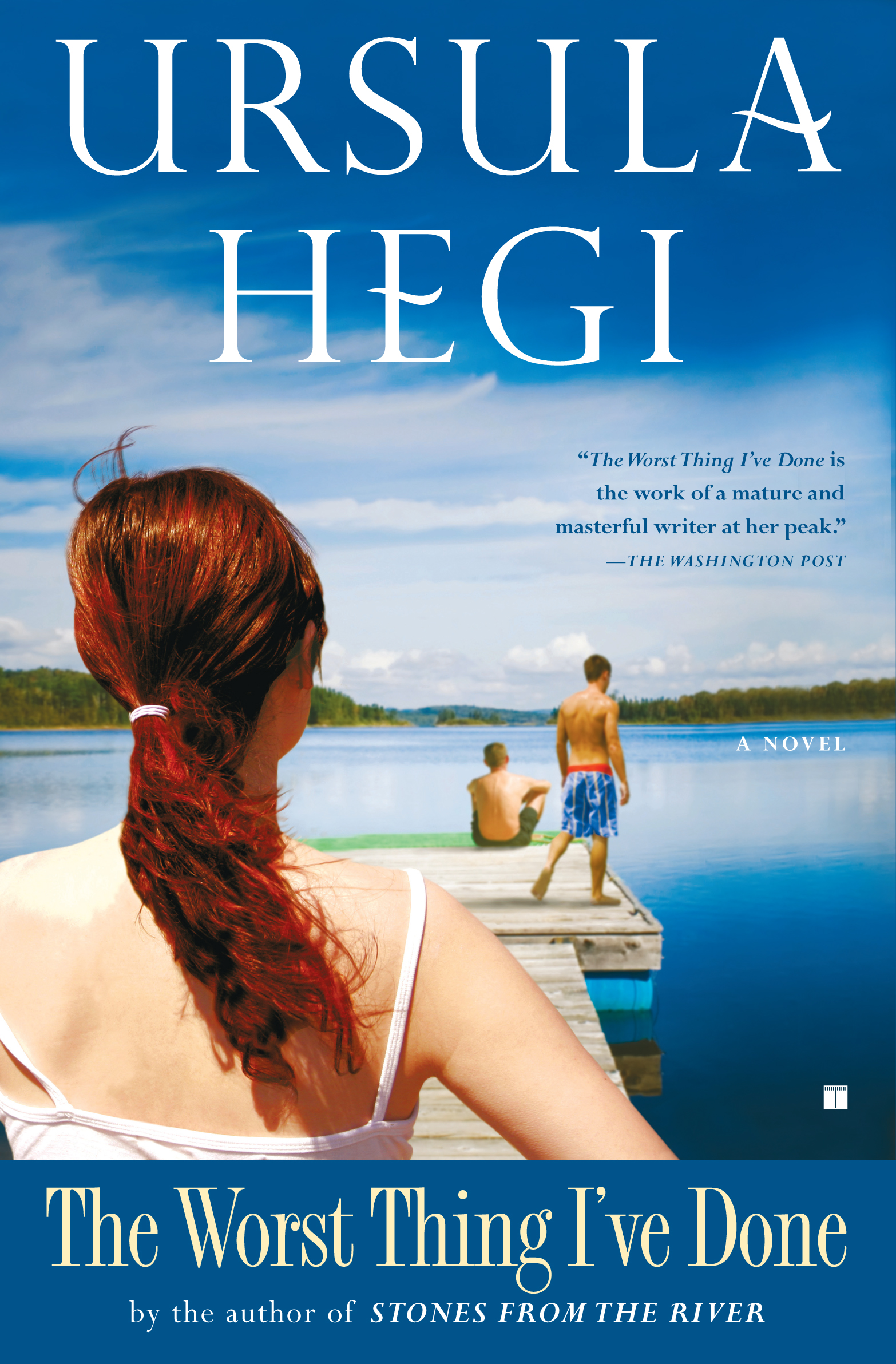 a literary analysis of stones from the river by ursula hegi Ursula hegi (born may 23, 1946 where she became an associate professor and taught creative writing and contemporary literature hegi's first stones from the.