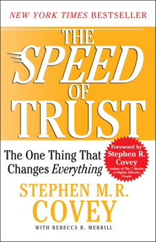 The speed of trust book by stephen mr covey rebecca r the speed of trust fandeluxe Choice Image