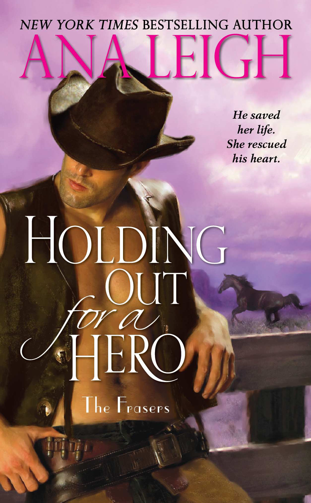 Book Cover Image (jpg): Holding Out For A Hero Ebook 9781439163429