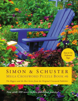 Simon & Schuster Mega Crossword Puzzle Book #6