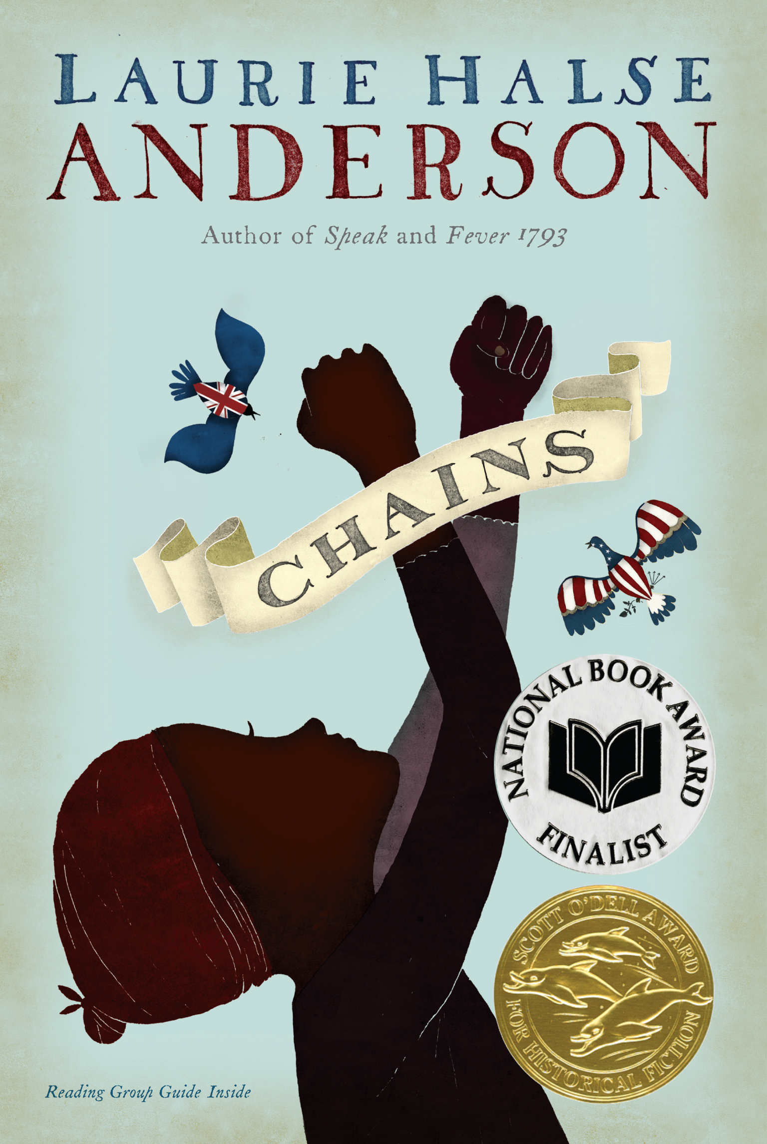 the friendship between slaves in forge a novel by laurie halse anderson Laurie halse anderson is the new york times-bestselling author who writes for kids of all ages known for tackling tough subjects with humor and sensitivity, her work has earned numerous ala and state awards two of her books, speak and chains, were national book award finalists.