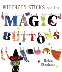 Witchety Sticks and the Magic Buttons