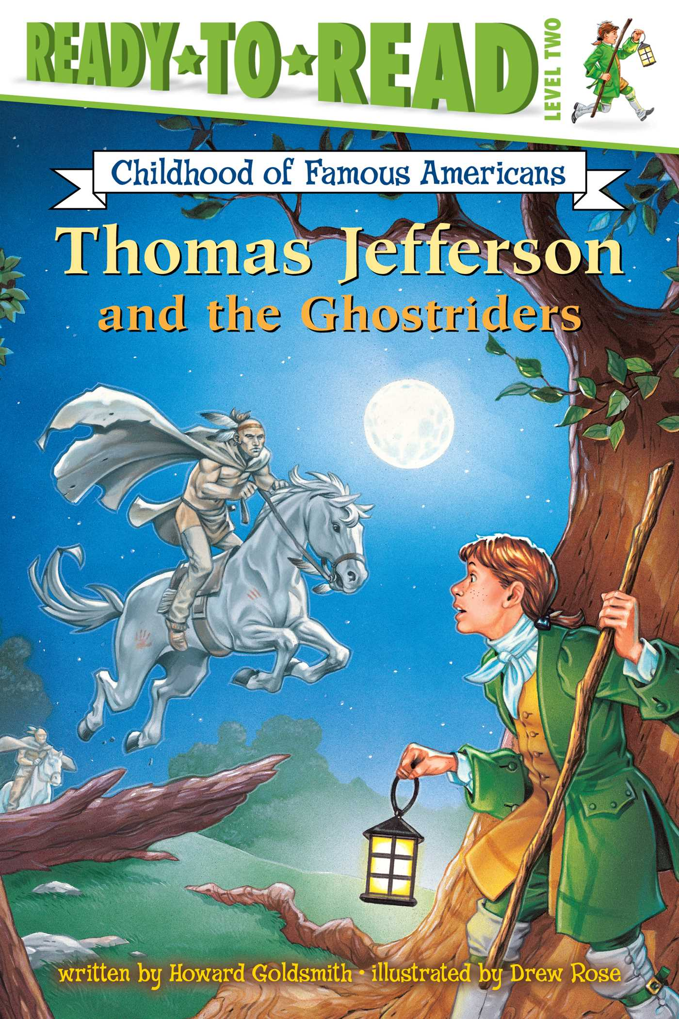 Thomas jefferson and the ghostriders 9781416926924 hr