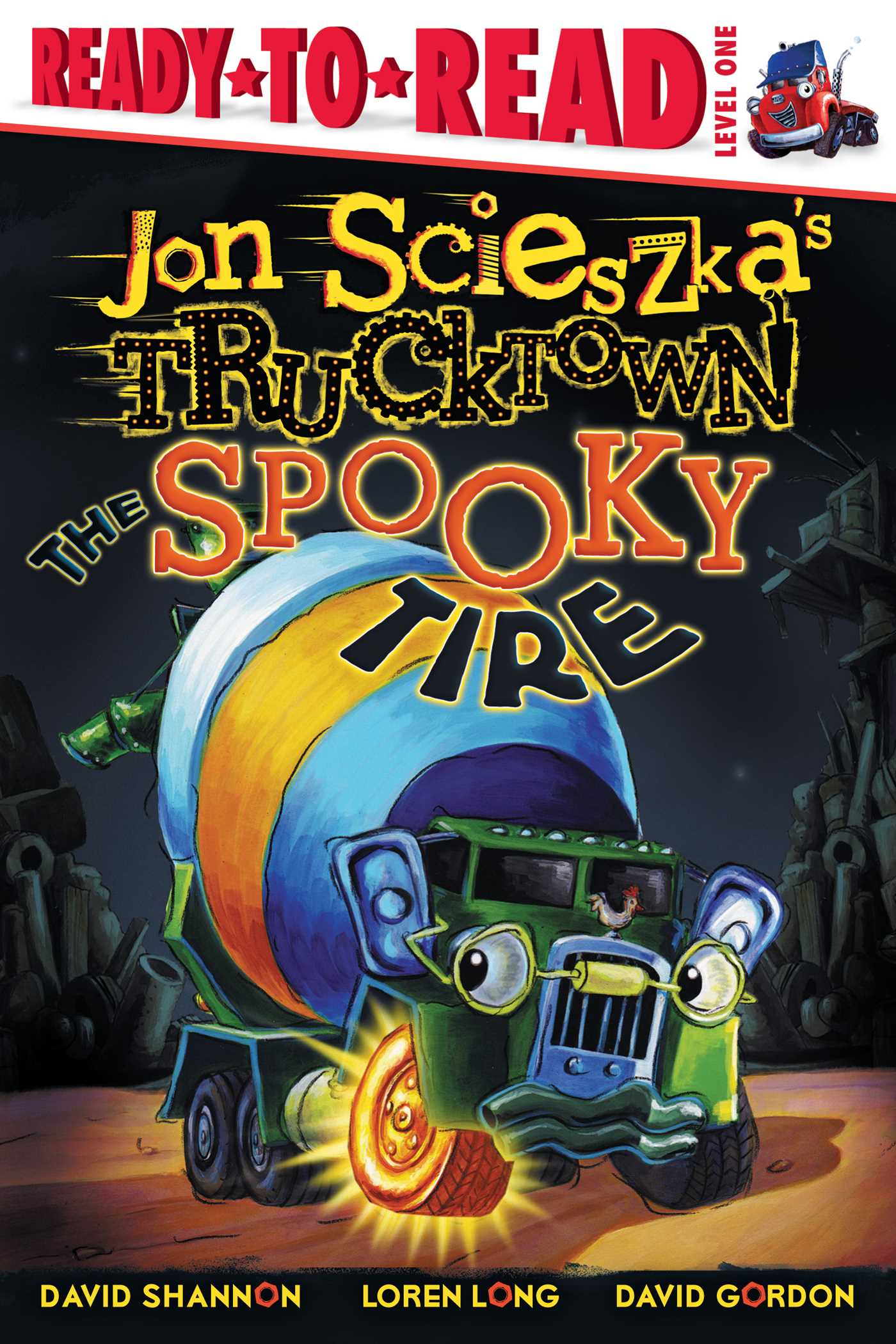 Spooky tire 9781416941422 hr