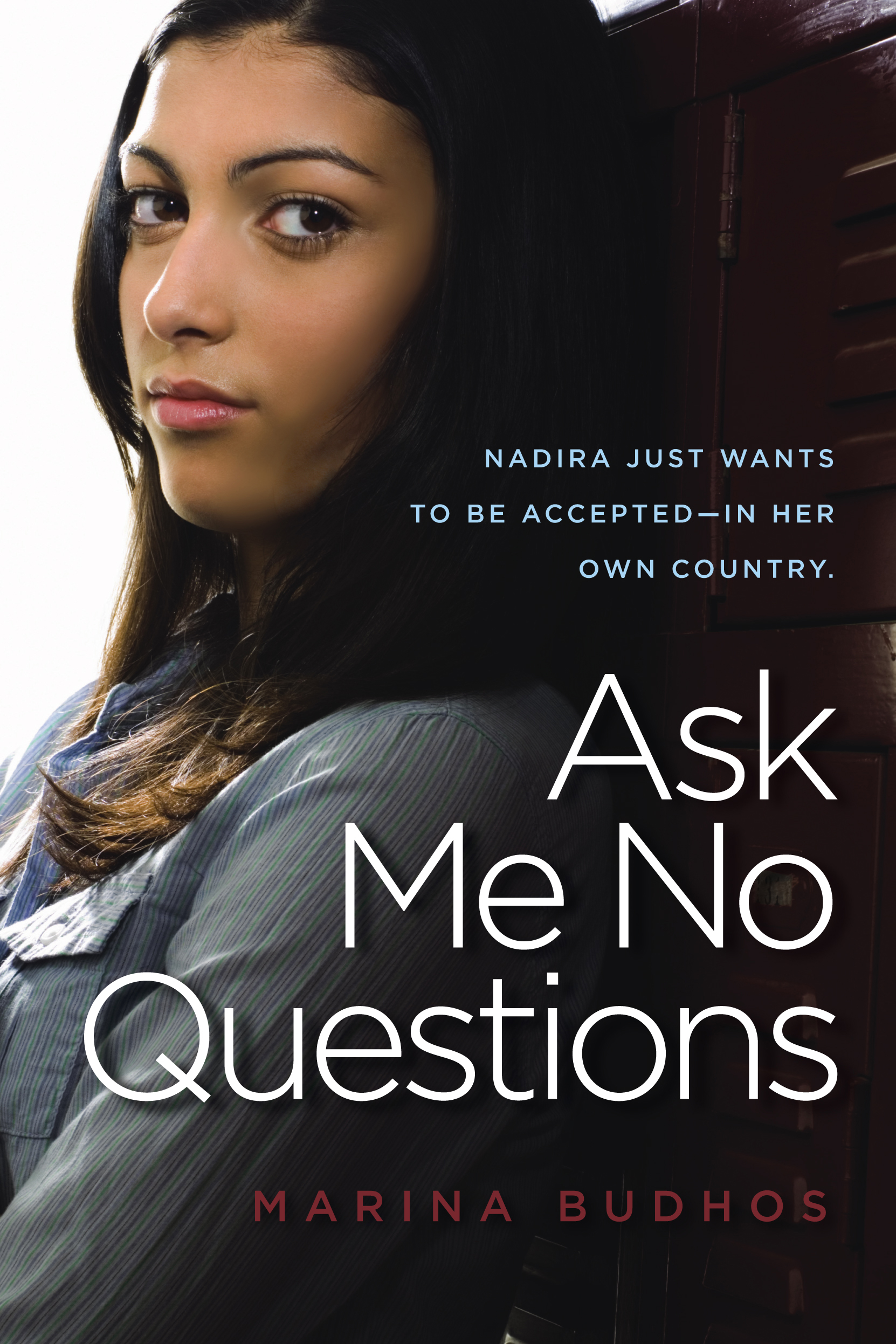 Book Cover Photography Questions ~ Ask me no questions book by marina budhos official