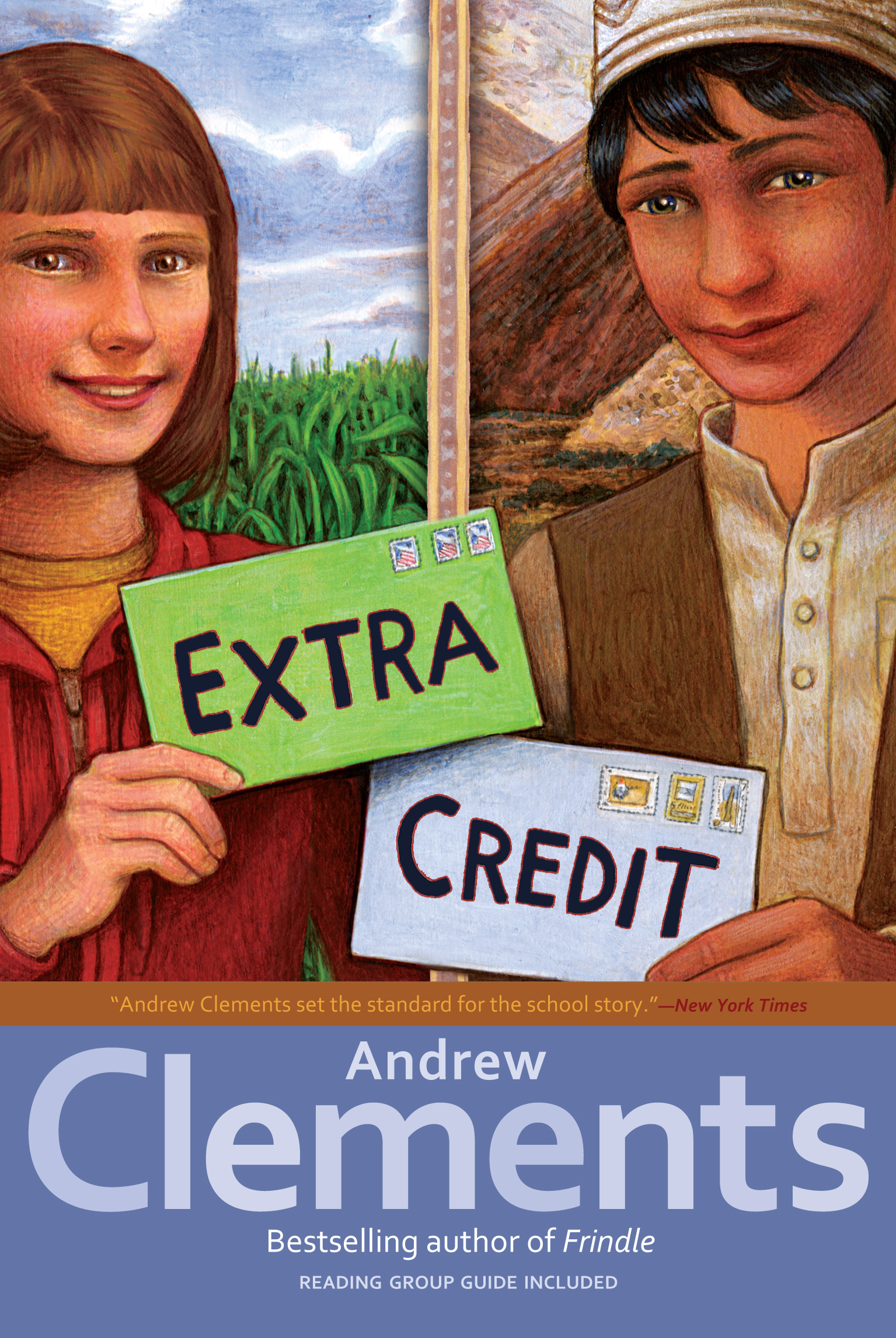 Extra credit book by andrew clements mark elliott official cvr9781416949312 9781416949312 hr publicscrutiny Gallery