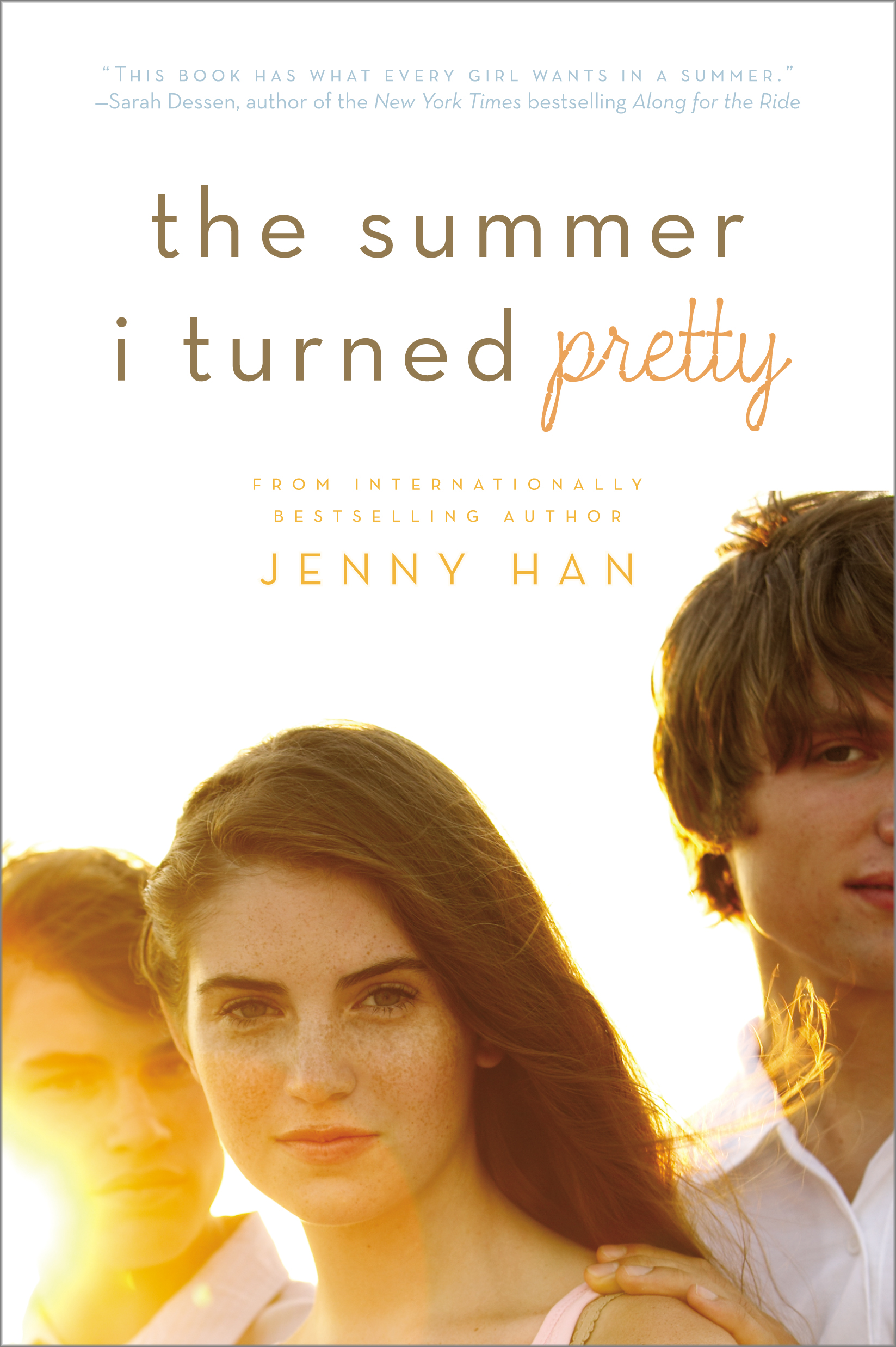 The Summer I Turned Pretty Book Cover Models ~ The summer i turned pretty book by jenny han official