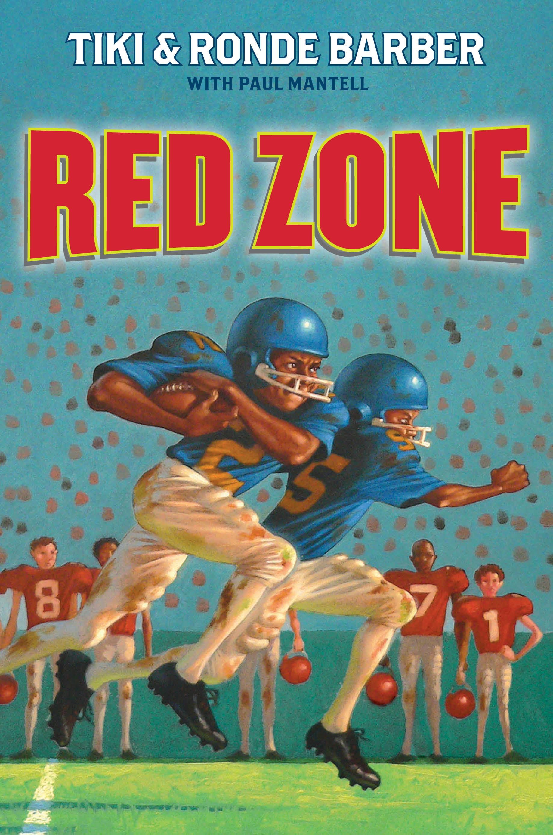 Cook Book Cover Zone ~ Red zone book by tiki barber ronde paul mantell