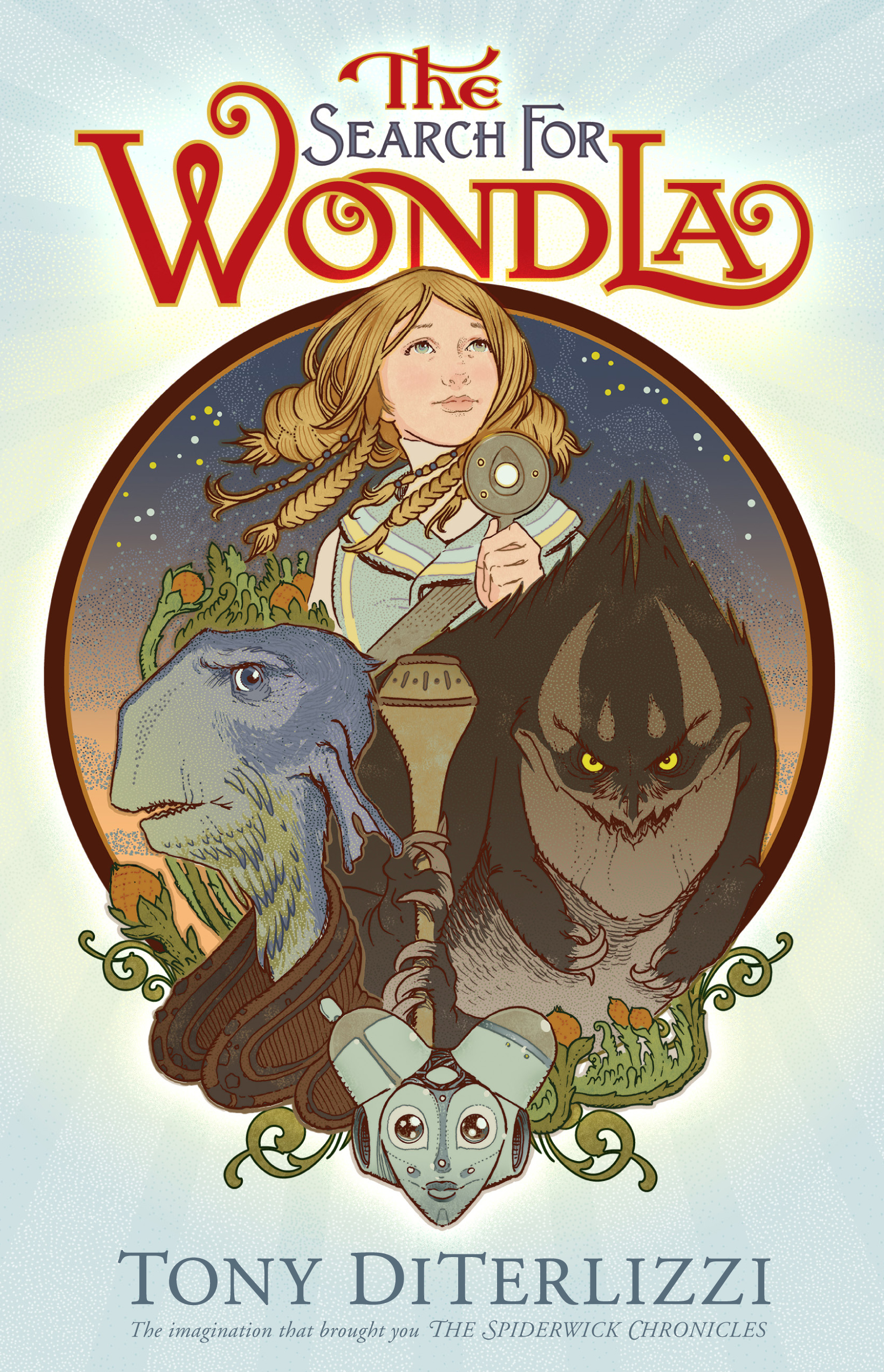 Book Cover Image (jpg): The Search For Wondla