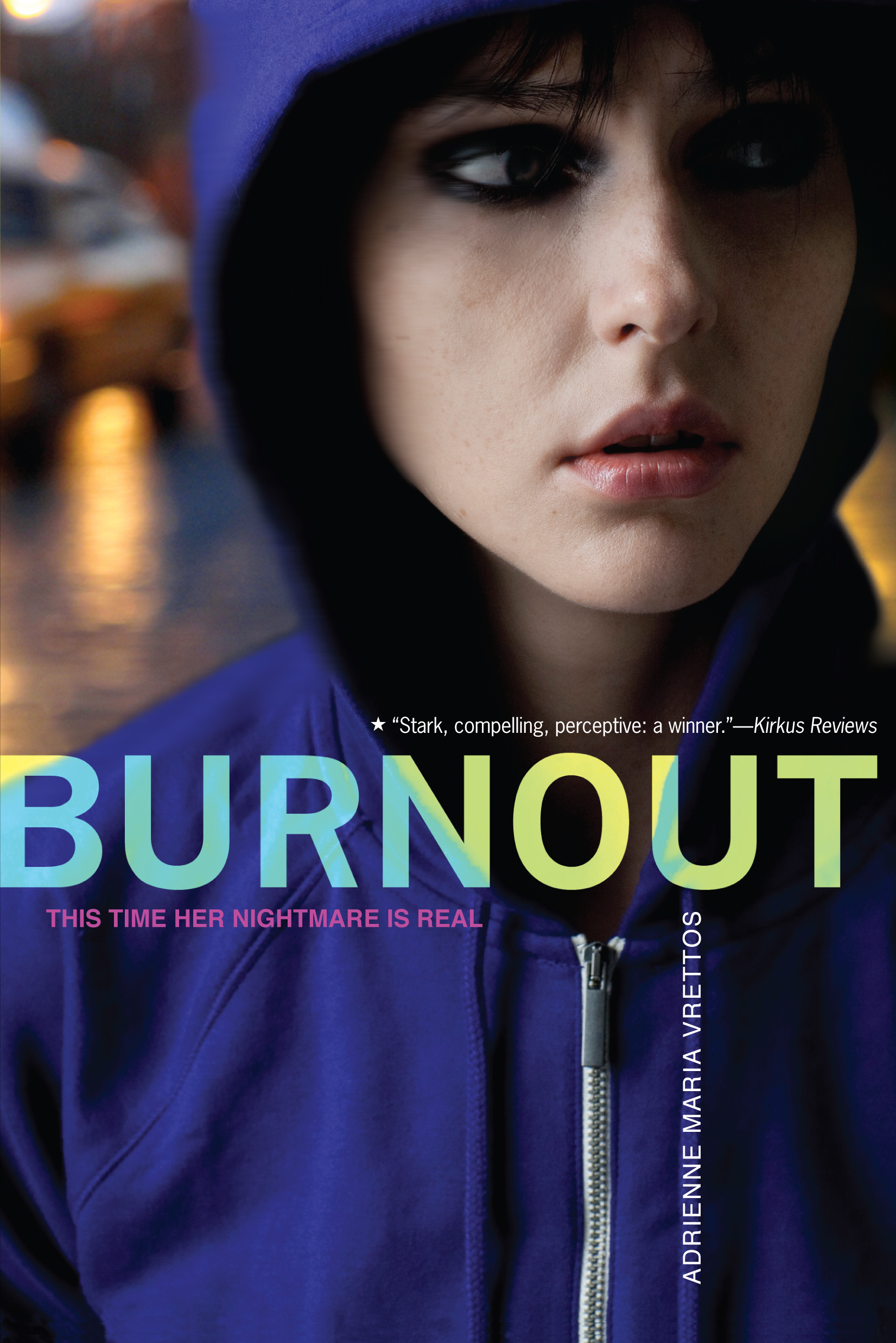 Adrienne maria vrettos official publisher page simon schuster burnout fandeluxe Ebook collections