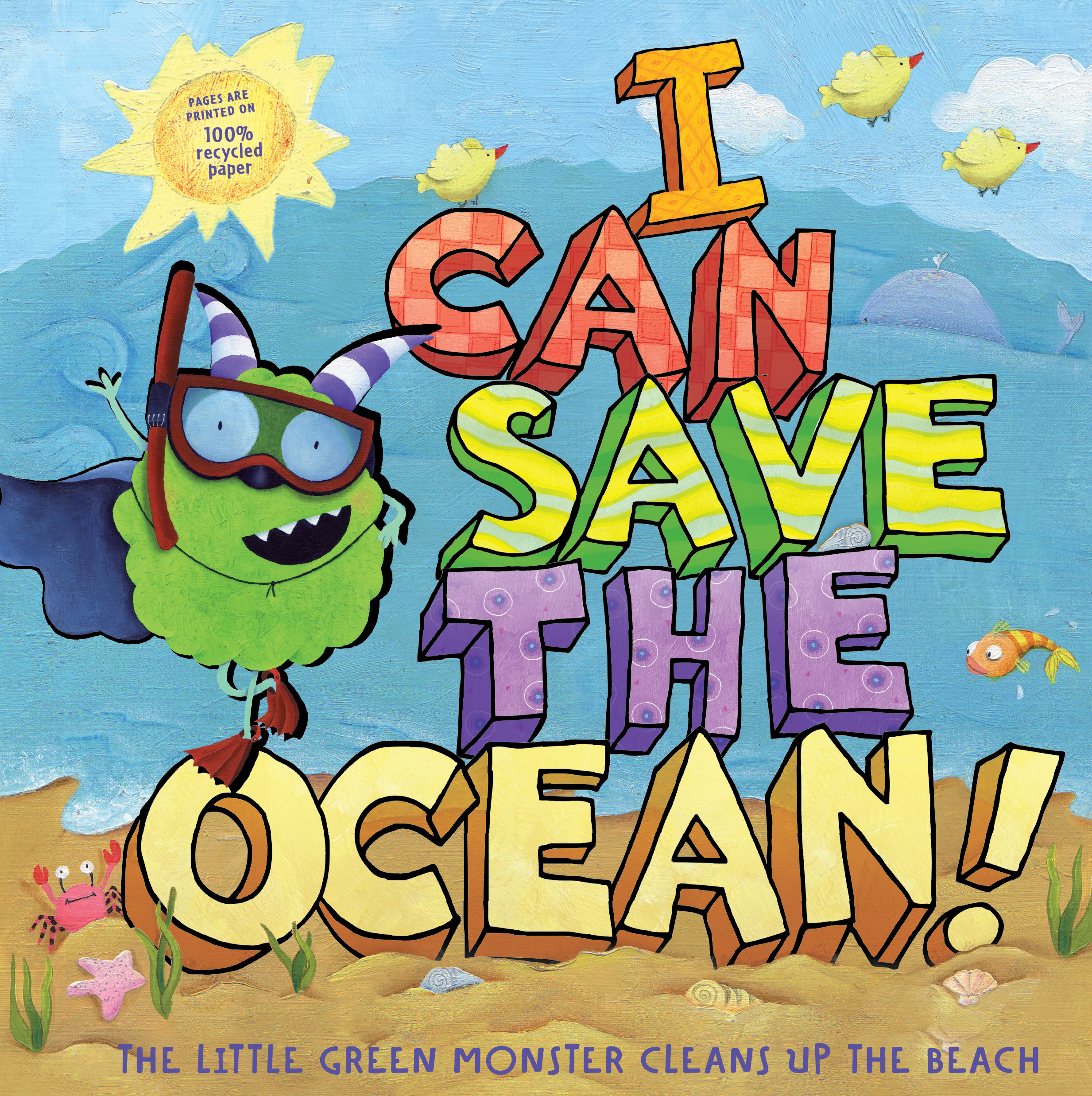 I can save the ocean book by alison inches viviana for Fish children s book