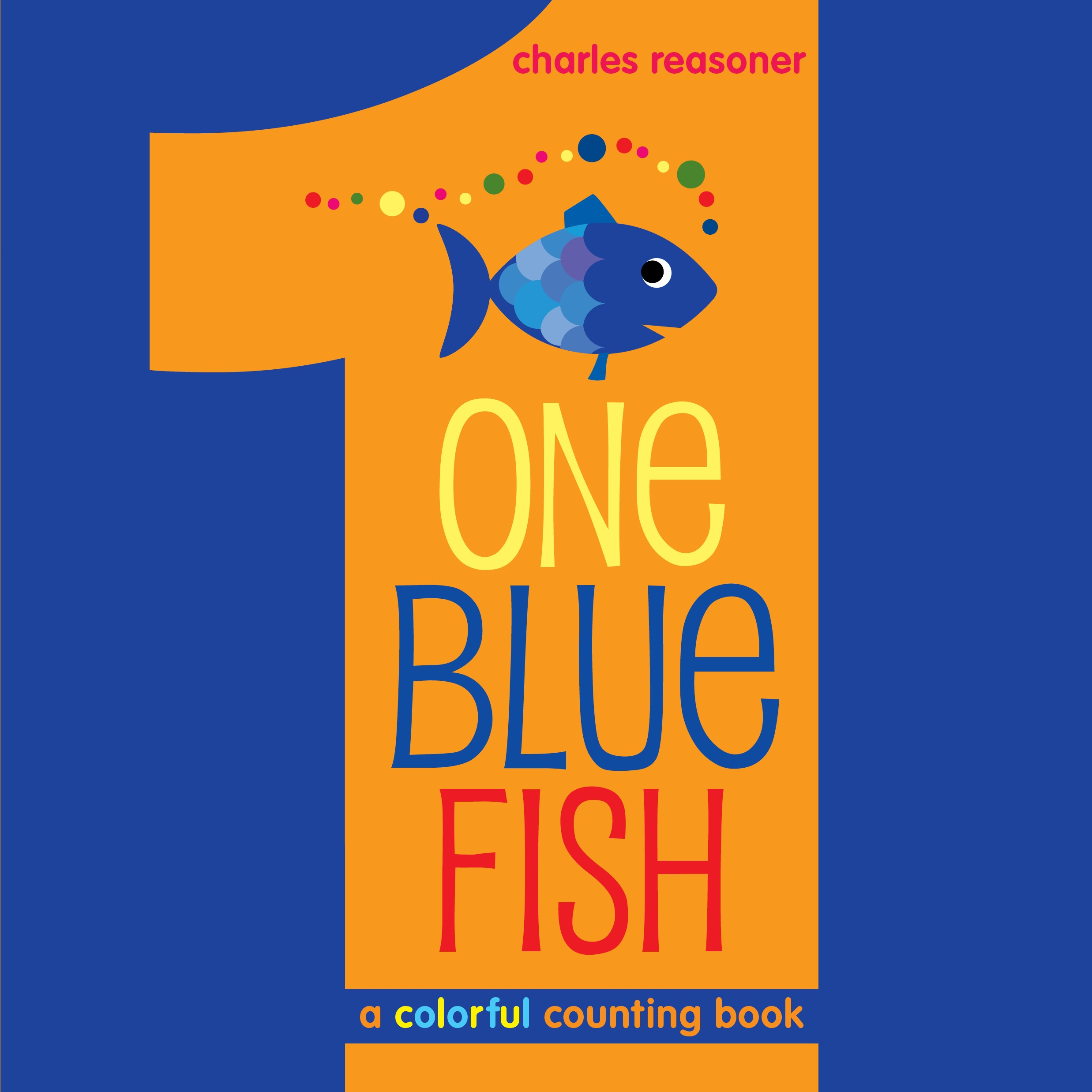 Charles reasoner official publisher page simon schuster for Blue fish book