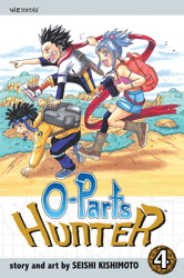 O-Parts Hunter, Vol. 4