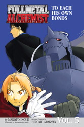 Fullmetal Alchemist: The Ties That Bind (Novel)