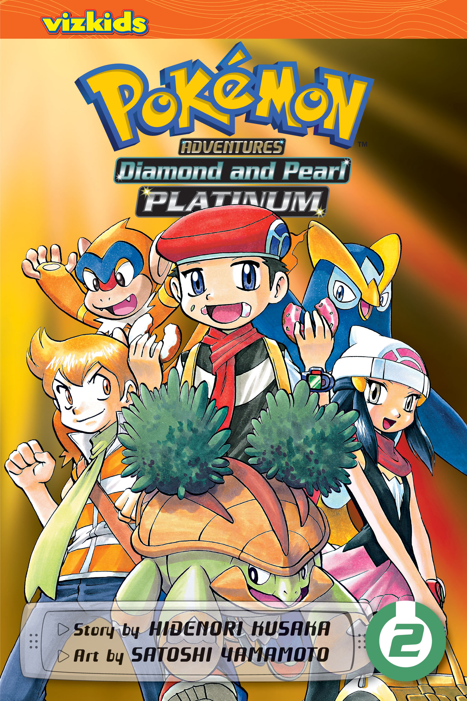 pokemon diamond and pearl platinum by Hidenori Kusaka book cover