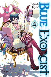 Blue Exorcist, Vol. 4
