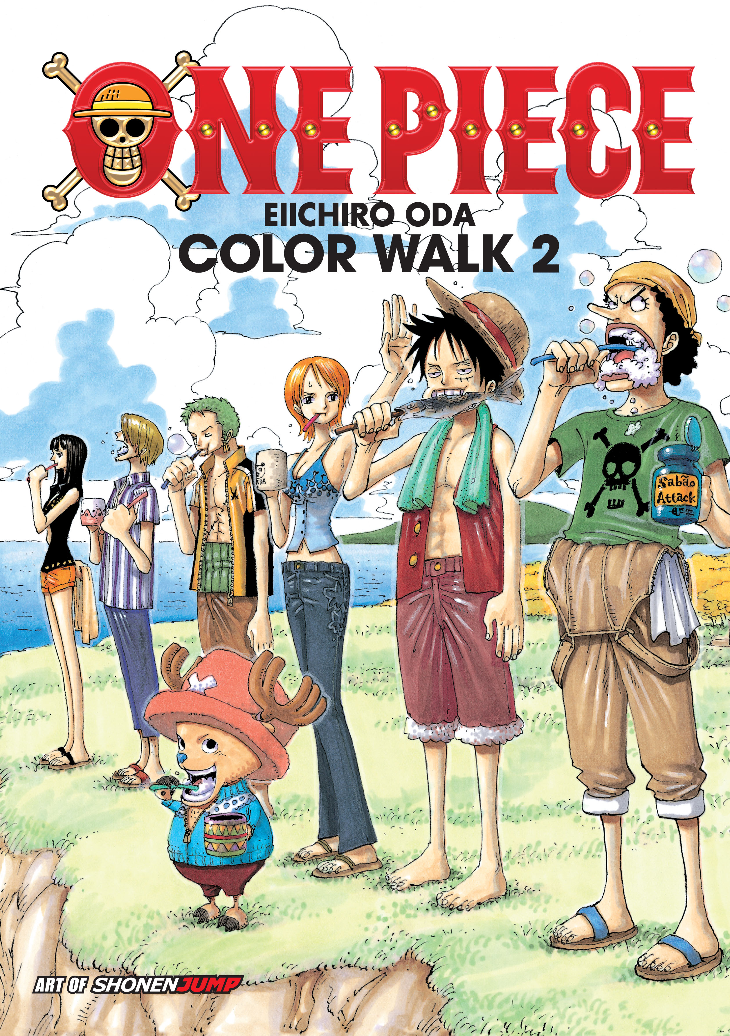 Art color book - Book Cover Image Jpg One Piece Color Walk Art Book Vol 2
