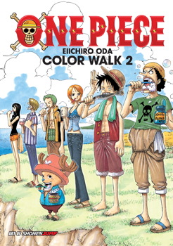 One Piece Color Walk Art Book Vol. 2
