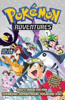 Pokemon Adventures Gold & Silver Box Set (set includes Vol. 8-14)