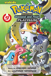 Pokémon Adventures: Diamond and Pearl/Platinum, Vol. 9