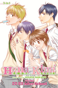Hana-Kimi (3-in-1 Edition), Vol. 8