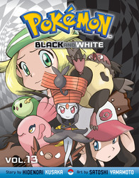 Pokémon Black and White, Vol. 13