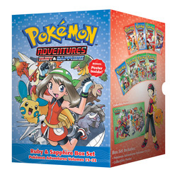 Pokemon Adventures Ruby & Sapphire Box Set