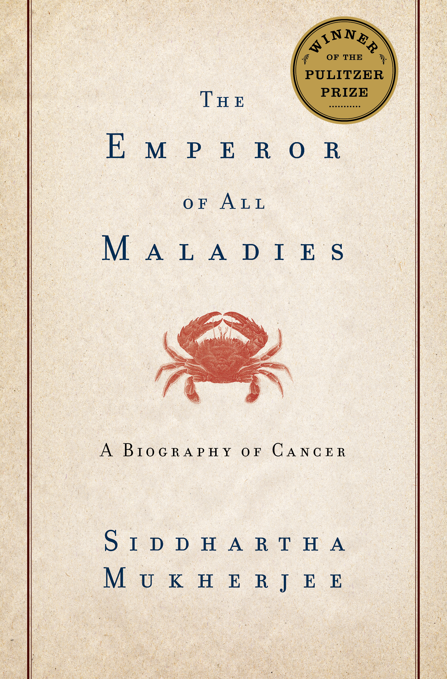 Book Cover Image (jpg): The Emperor Of All Maladies