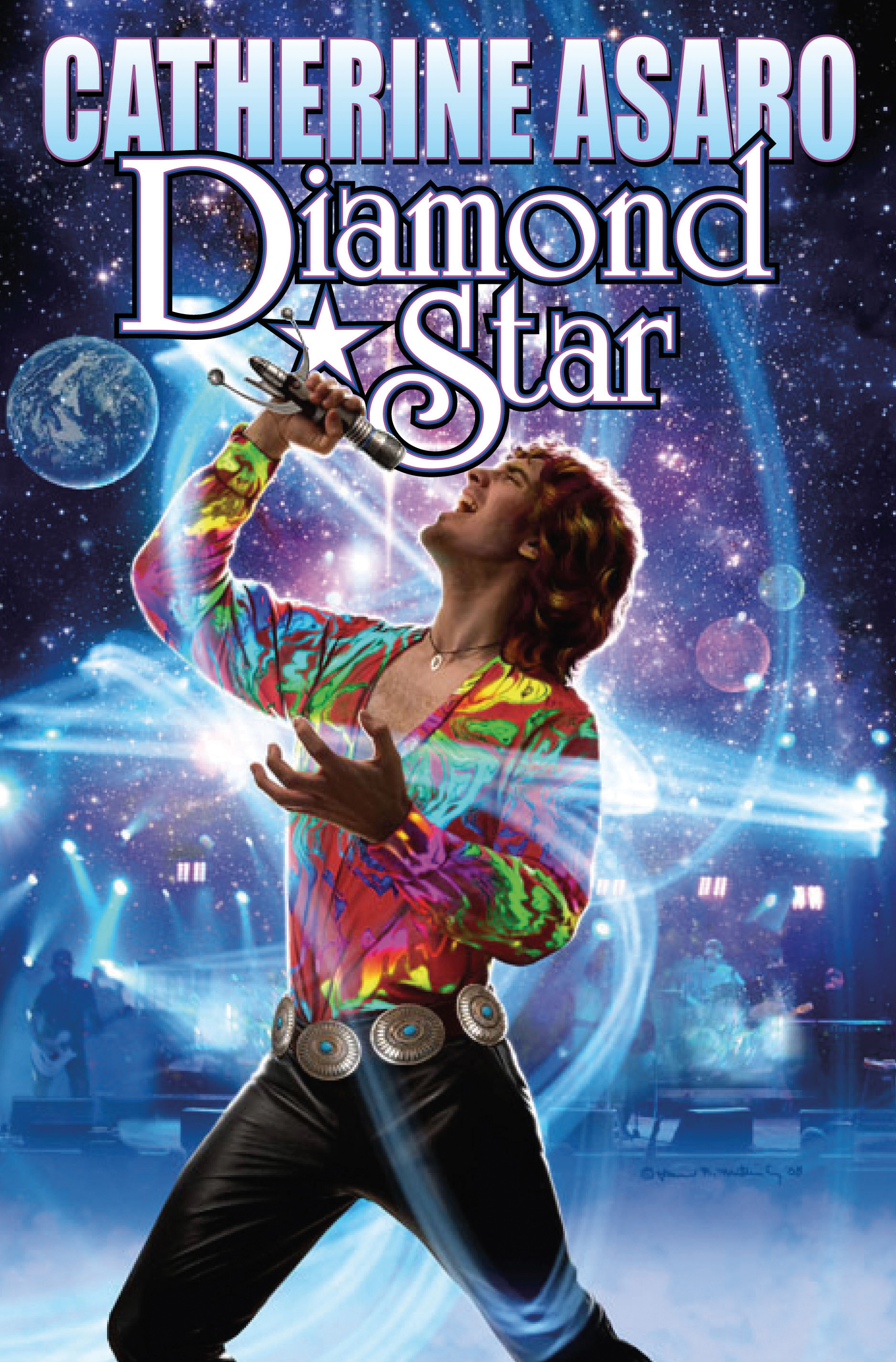 Book Cover Fantasy Record ~ Diamond star book by catherine asaro official