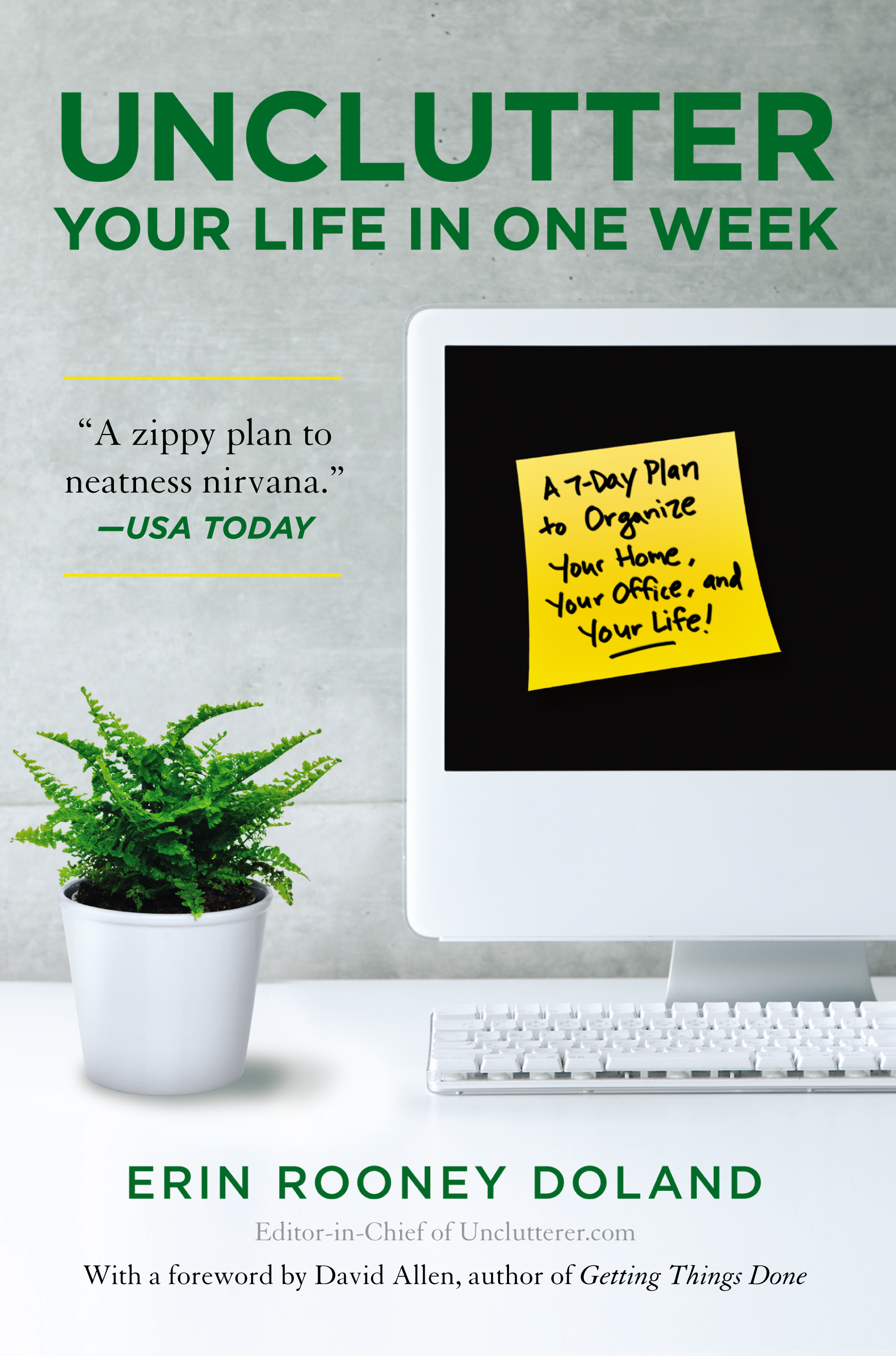 Unclutter your life in one week book by erin rooney doland cvr9781439150474 9781439150474 hr unclutter your life in one week fandeluxe PDF