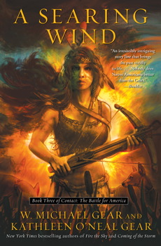 A Searing Wind by W. Michael Gear and Kathleen O'Neal Gear