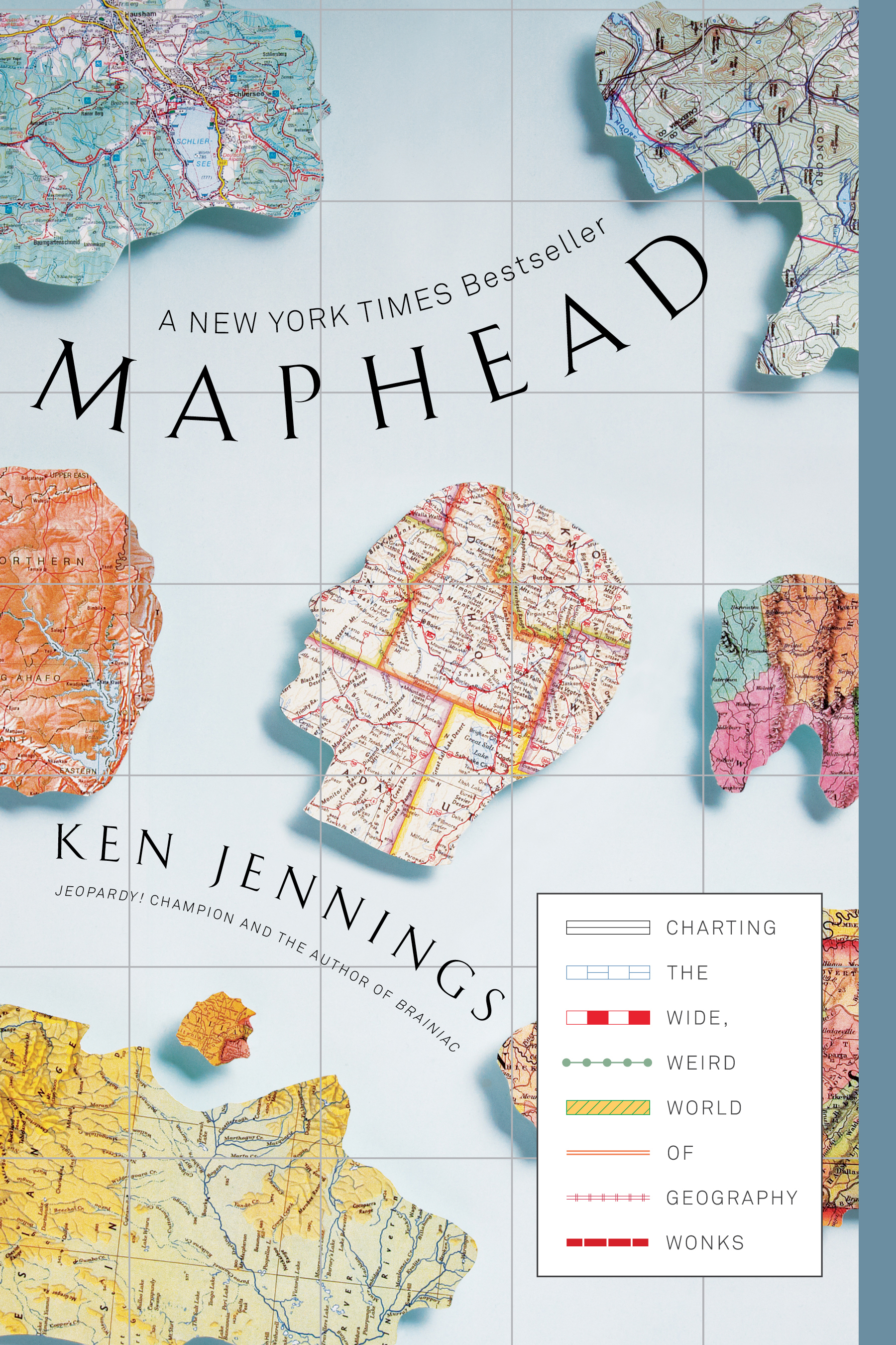 Maphead book by ken jennings official publisher page simon cvr9781439167182 9781439167182 hr gumiabroncs Gallery