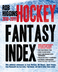Higgins Hockey Fantasy Index: 2010-2011