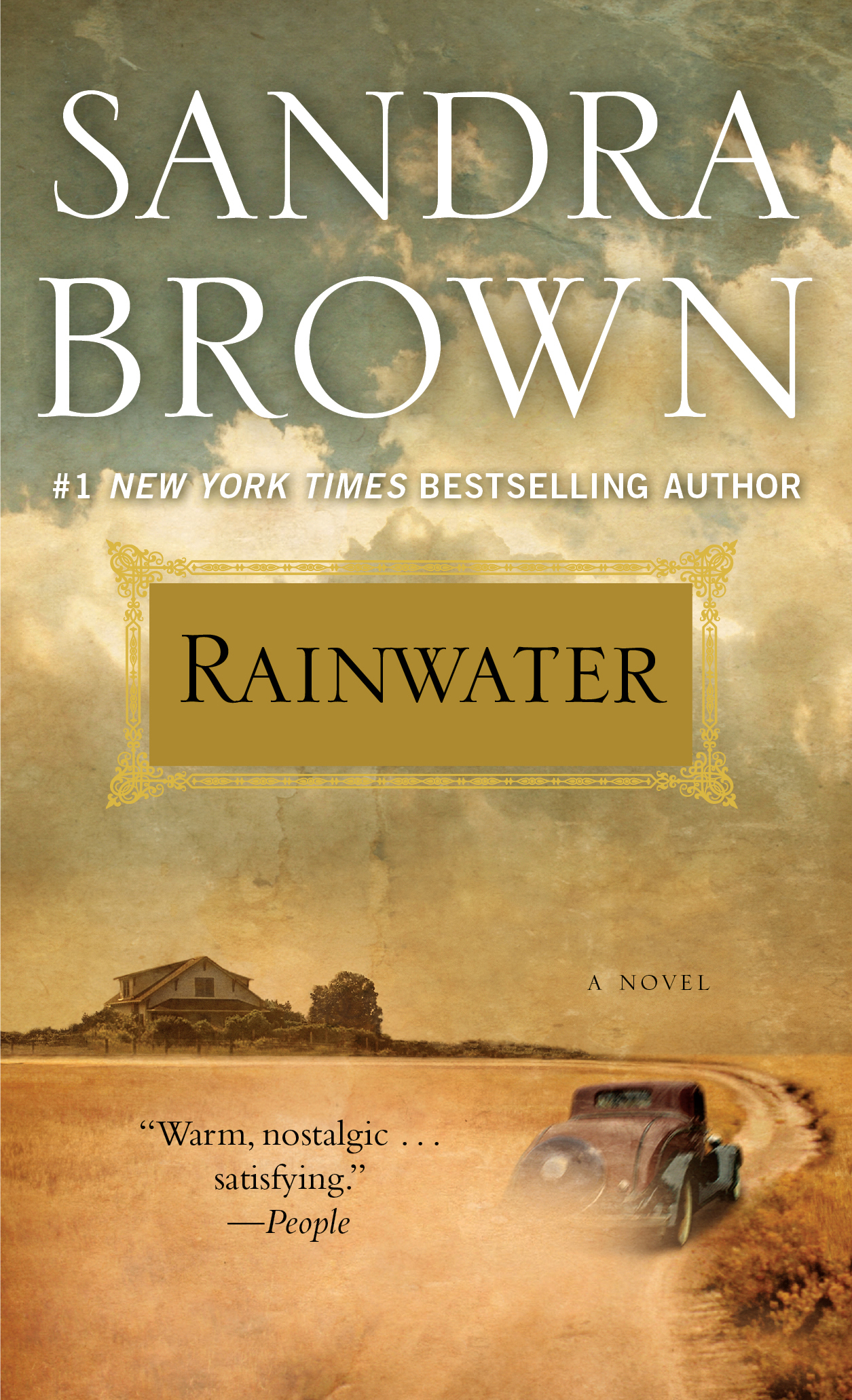 Rainwater book by sandra brown official publisher page simon