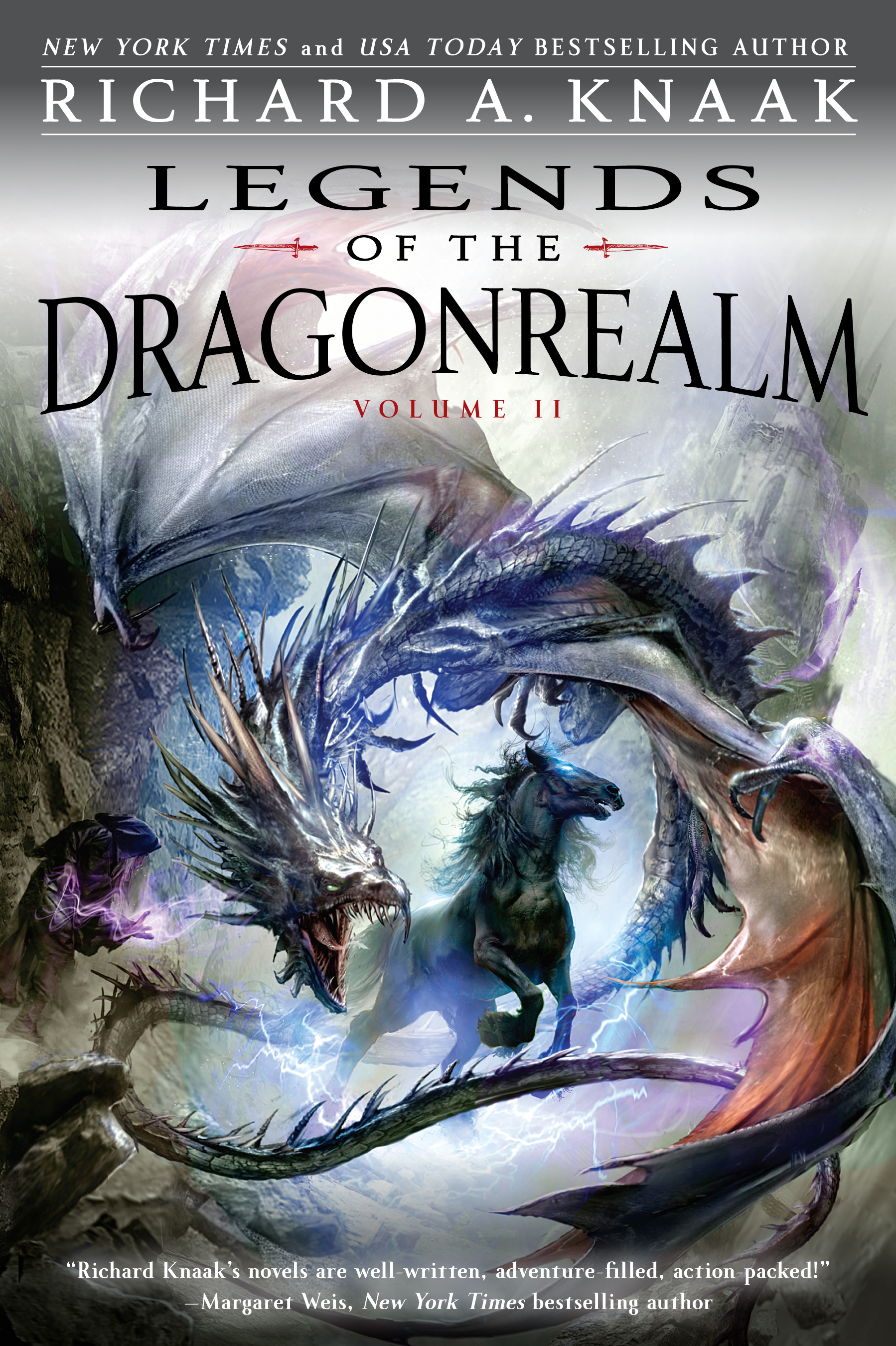 Legends Of The Dragonrealm, Vol Ii  Book By Richard A Knaak  Official  Publisher Page  Simon & Schuster