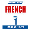 Pimsleur French Level 1 Lessons 16-20 MP3