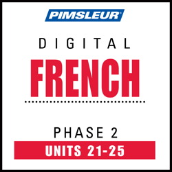 French Phase 2, Unit 21-25