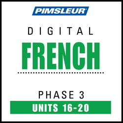 French Phase 3, Unit 16-20