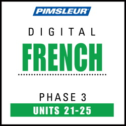 French Phase 3, Unit 21-25