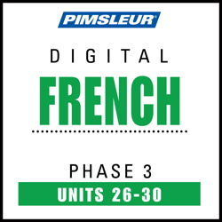 French Phase 3, Unit 26-30