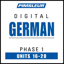 German Phase 1, Unit 16-20