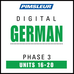 German Phase 3, Unit 16-20