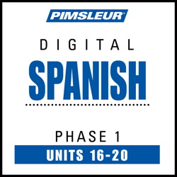 Spanish Phase 1, Unit 16-20