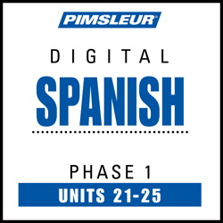 Spanish Phase 1, Unit 21-25