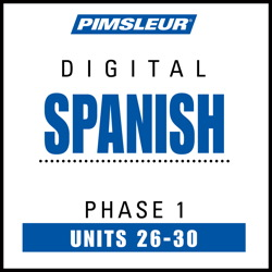 Spanish Phase 1, Unit 26-30