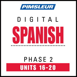 Spanish Phase 2, Unit 16-20