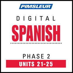 Spanish Phase 2, Unit 21-25